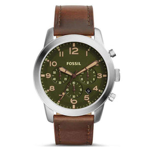 Supershop:Reloj Fossil para Hombre Cronografo Casual Color Cafe