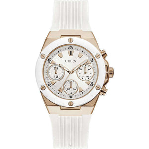 Supershop:Reloj Guess para Mujer Cronografo Casual Color Blanco