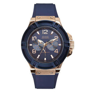 Supershop:Reloj Guess para Hombre Multifuncion Moda Color Azul