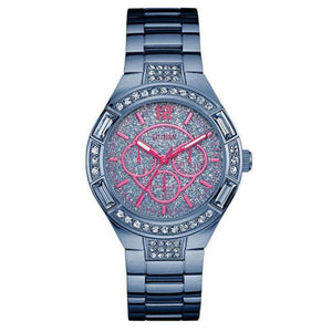 Supershop:Reloj Guess para Mujer Multifuncion Moda Color Azul