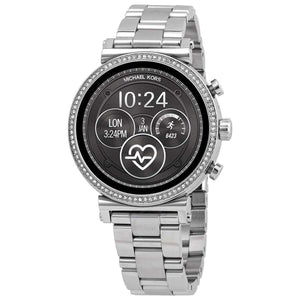 Supershop:Reloj Michael Kors Smartwatch para Mujer SmartWatch Elegante Color Silver