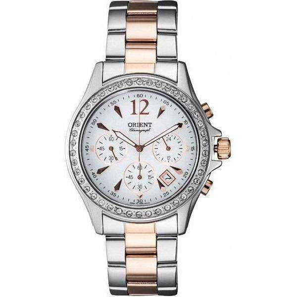 ffbe007d0b7f Reloj Orient FTW00003W para Mujer Pulso Acero Inoxidable Silver Clasico