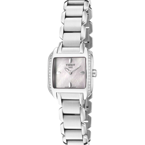 Reloj Tissot T02.1.385.71 para Mujer Pulso Acero Inoxidable Silver Clasico Supershop
