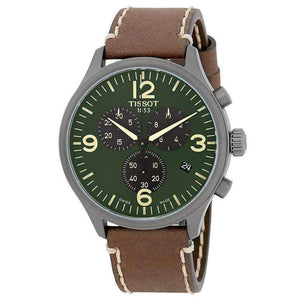 Supershop:Reloj Tissot para Hombre Cronografo Moda Color Cafe