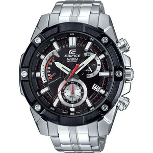 Supershop:Reloj Casio Edifice para Hombre Cronografo Casual Color Silver