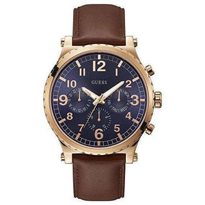 Supershop:Reloj Guess para Hombre Cronografo Casual Color Cafe