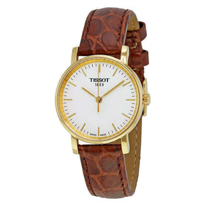 Supershop:Reloj Tissot para Mujer Clasico Casual Color Cafe