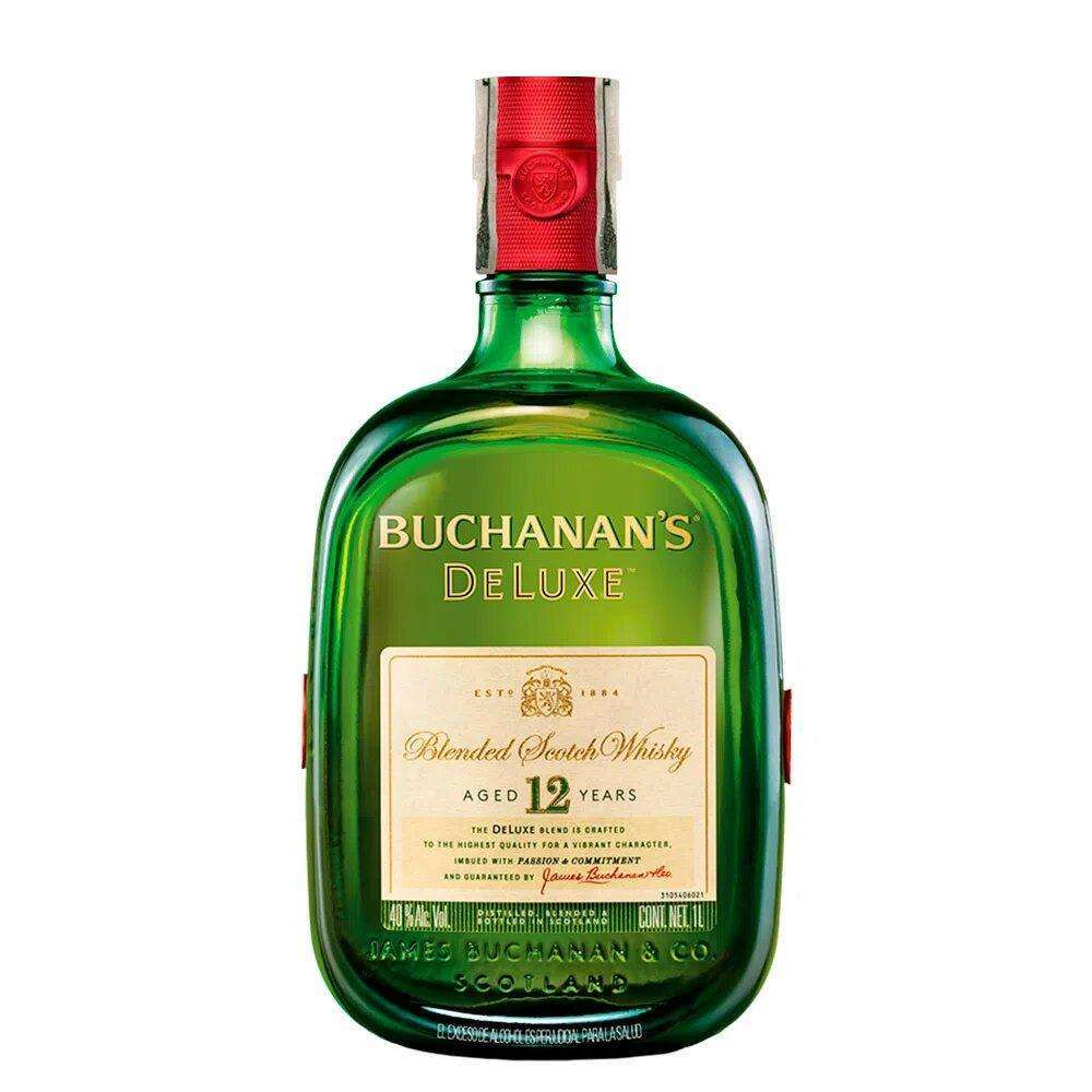 Supershop:Whisky Buchanan´s 12 años D´luxe tamaño 1000 ml Ref: BCH093114