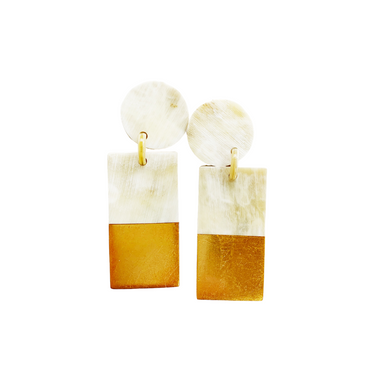 Gold Dipped Cabana Earrings