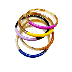 Jewel Horn Bangle Set