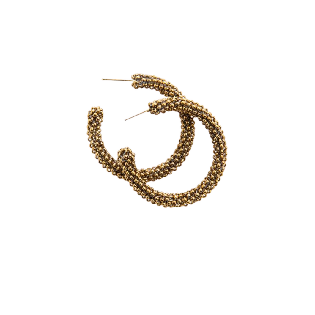 Gold Small Hoop Earring