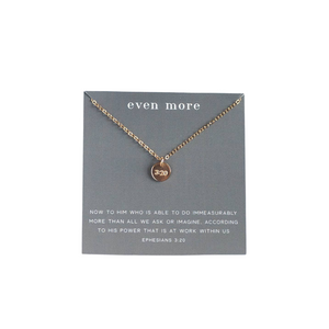 """Even More"" Necklace"
