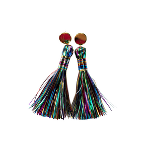 Multi-color Tinsel Tassel