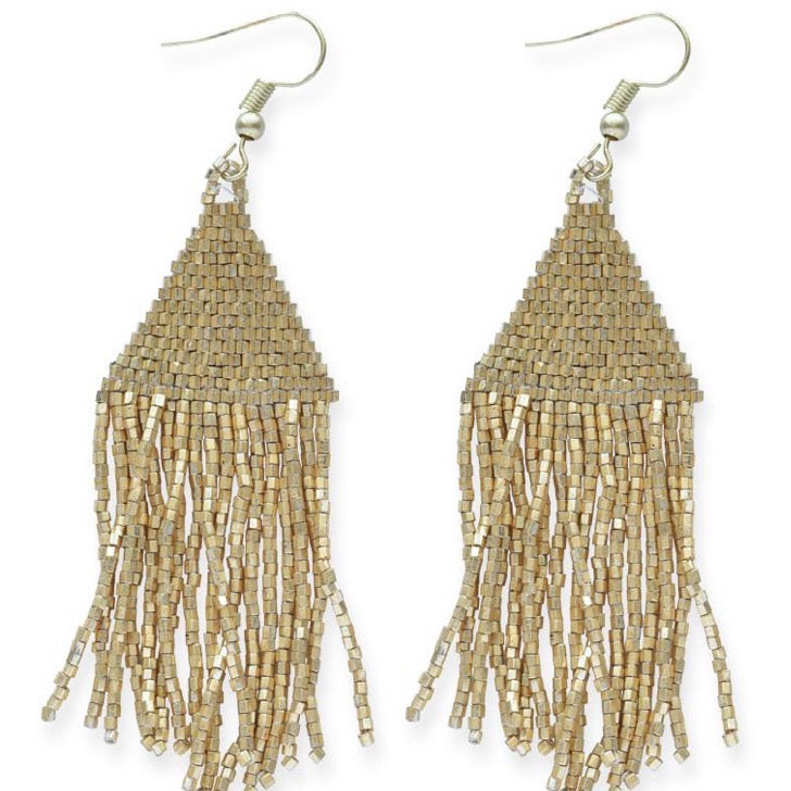 Gold Luxe Petite Fringe