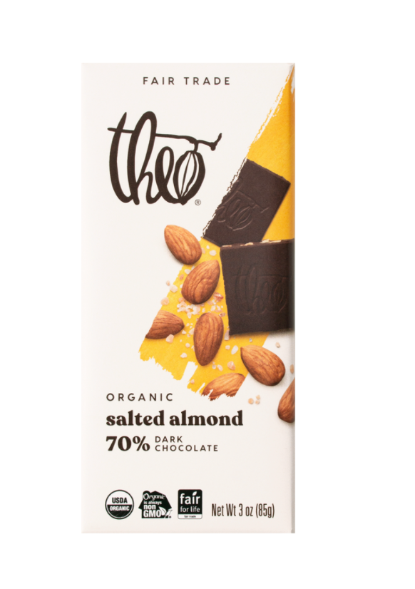Salted Almond 70% Dark Chocolate