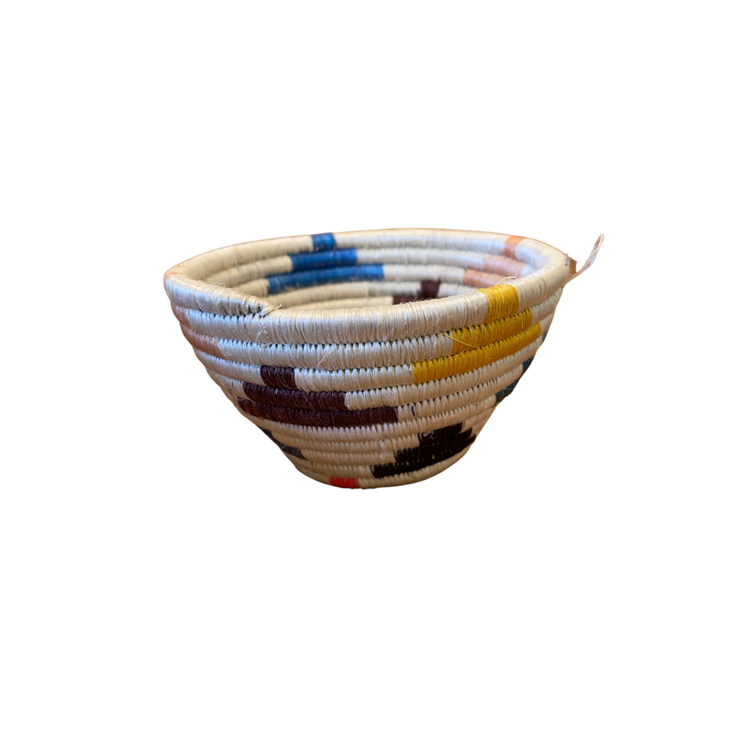 Tiny Woven Bowls - Multi-Color
