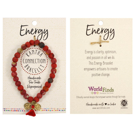 Kantha Connection Bracelet - Energy
