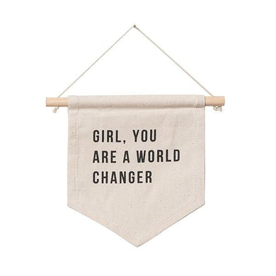 World Changer Wall Hanging