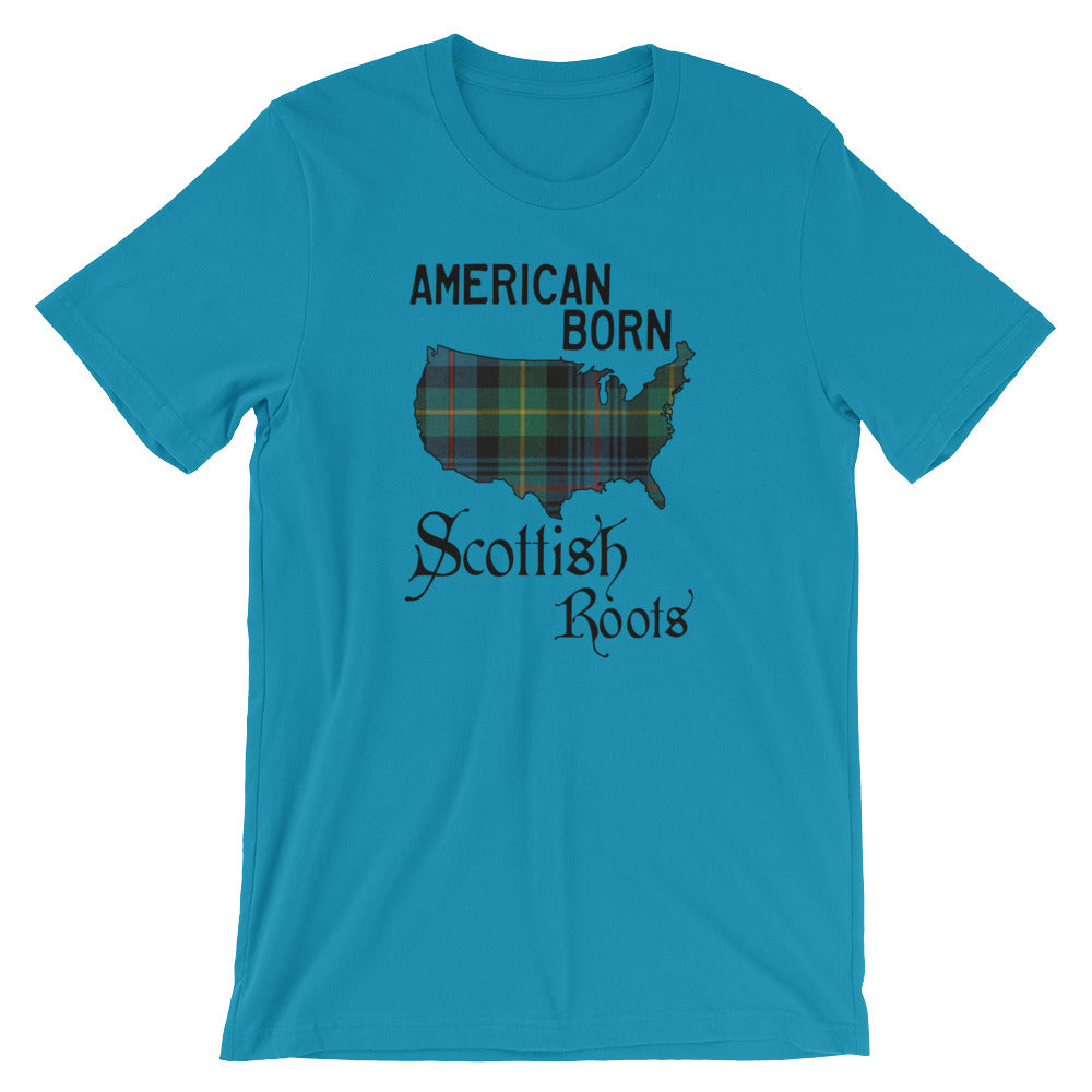 American Born, Scottish Roots Short-Sleeve Unisex T-Shirt