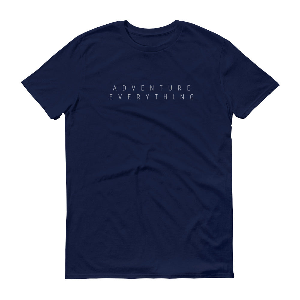 Adventure Everything Originals By ShaunVlog Short-Sleeve T-Shirt with front and back logo