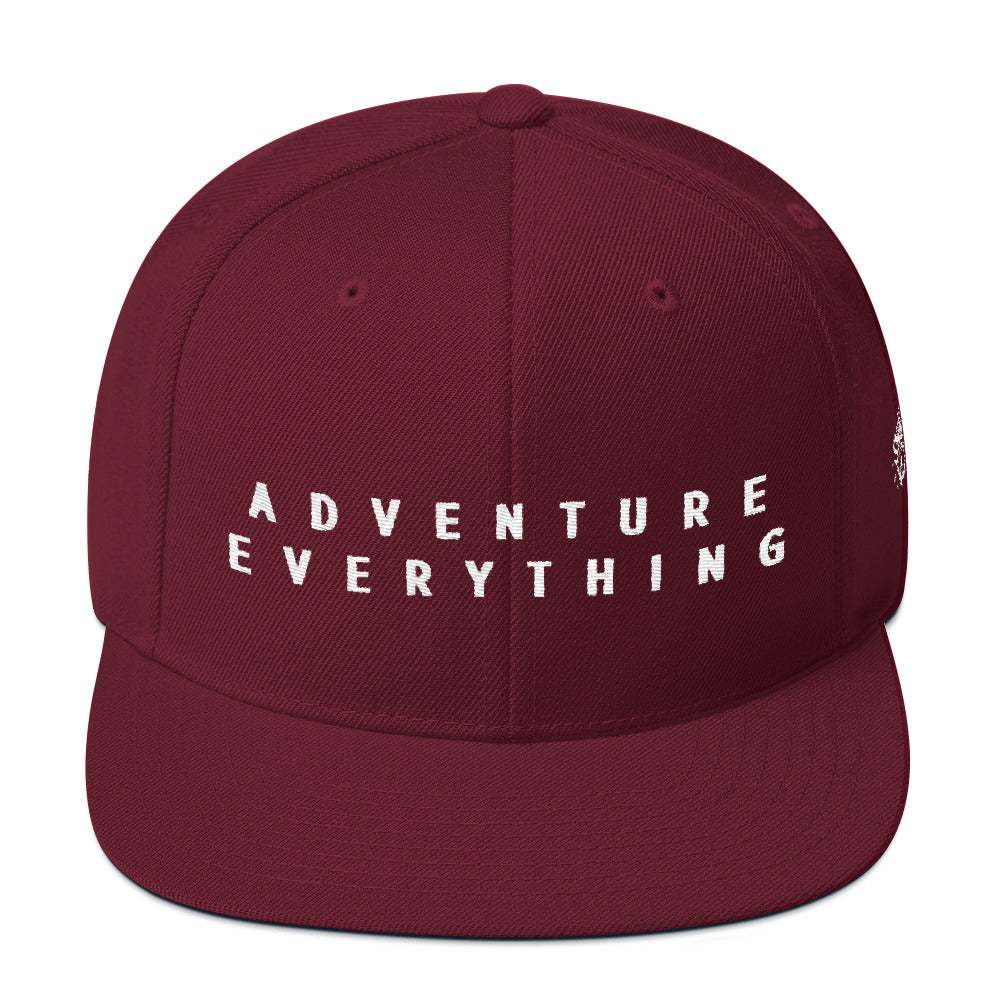 Adventure Everything by ShaunVlog Snapback Hat