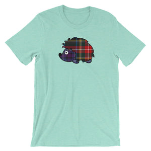 Scottish Tartan Animal Legend Short-Sleeve Unisex T-Shirt