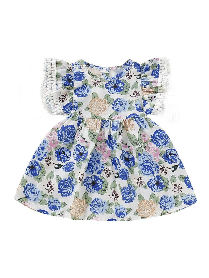Baby Toddler Girl Flower Casual Dress