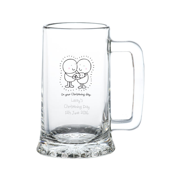 Chilli & Bubbles Christening Tankard