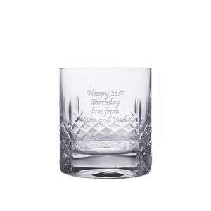 Cut Crystal Whisky Tumbler