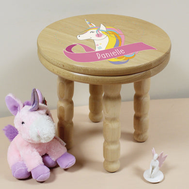 Unicorn Wooden Stool, unicorn party ideas, unicorn costume, unicorn decoration, wooden toys, wooden table, unicorn, colouring book, playmobil, unicorn poo