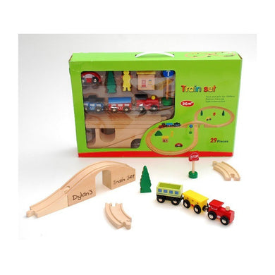 Wooden Train Track Set, wooden toy, personalised gifts, educational toys, aldi, asda, lidl, puzzle games, the entertainer