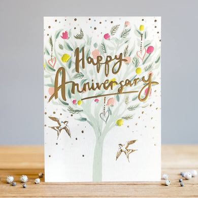 Louise Tiler - Happy Anniversary Love Tree