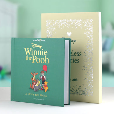 Timeless Winnie the Pooh Book, Winnie the pooh gifts, christmas gifts, disney books, personalised books, personalised gifts, educational books, story time, reading books, baby books, preschool books, london shops, tooting shops, gifts for babies, baby gifts, newborn gifts, gifts for kids, gifts for children, pooh gifts, gifts sets