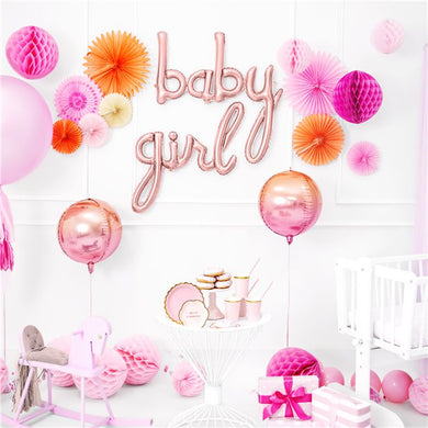 Rose Gold Baby Phrase Balloon - 30