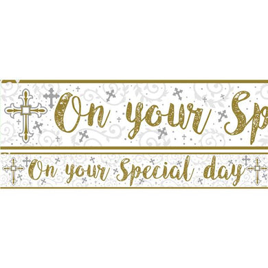 On Your Special Day Paper Banners 1 design 1m each