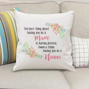 The Best Thing Cushion Cover