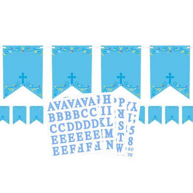 Pack contains: 24 Blank Pennants 120 Letter & Number Stickers Includes Ribbon,