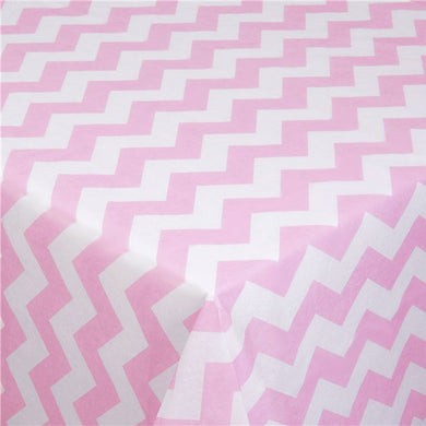 Pattern Works Pink Chevron Tablecover - 1.8m, Party supplier, party decor, corporate party supplier, London Party supplier, Christening Party, Wandsworth Party Supplier, ginger ray, party delights, USA Party Supplier, EU Party Supplier, baby shower supplier