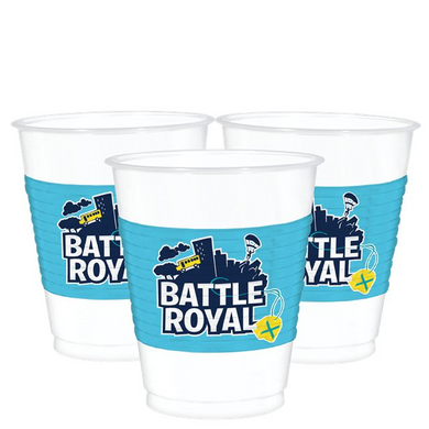 Battle Royal Plastic Cups - 473ml