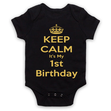 Keep calm its my birthday - Baby Grows