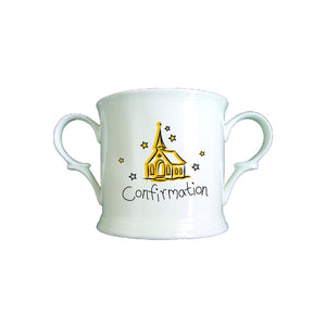 Church Confirmation Bone China Loving Cup