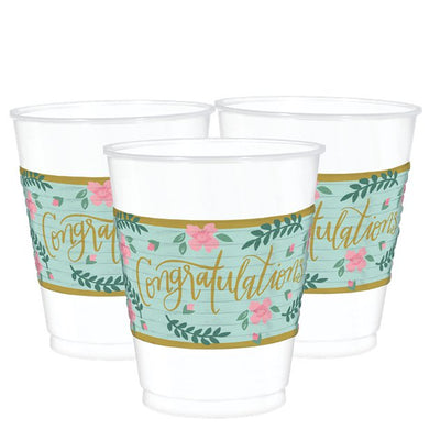 Mint To Be Plastic Cups - 473ml, Party supplier, party decor, corporate party supplier, London Party supplier, Christening Party, Wandsworth Party Supplier, ginger ray, party delights, USA Party Supplier, EU Party Supplier, baby shower supplier, hen party décor, hen party balloons, team bride decorations