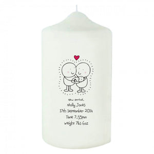 Chilli & Bubble's New Baby Candle