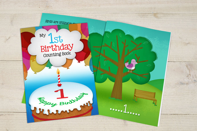 My 1st Birthday Counting Book Un-personalised