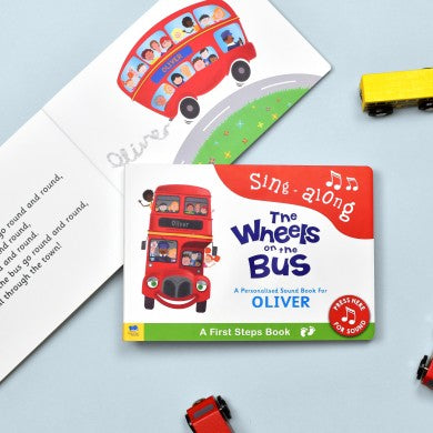 Wheels on the Bus - First Steps Sound Book