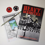 Heavy Manners Comic Bulletin One LIMITED EDITION PACK