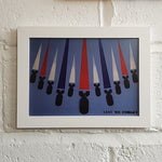 British Bombs A4 Art Print