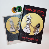 Hard Core Pawn Issue One LIMITED EDITION PACK