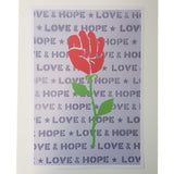 Hope & Love A4 Art Print