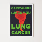 Lung Cancer Postcard